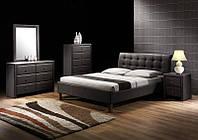Кровать двухспальная Samara / Самара Halmar черный