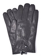 Мужские кожаные перчатки из оленьей кожи на махре