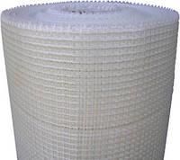 Сетка стеклотканевая белая штукатурная армирующая 75г\м2 - 5*5мм ( для внутренних работ )