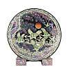 Декоративная тарелка «Журавли»