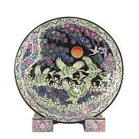 Декоративная тарелка «Журавли», фото 1