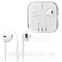 Earpods Гарнитура с кнопками для Apple iPhone 5 (копия)