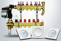 Водяное напольное отопление Danfoss