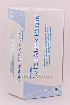Medicom Safe+mask Economy Маски защитные с ушной петлей, голубые, 50 шт.
