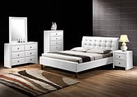 Кровать двухспальная Samara / Самара Halmar белый