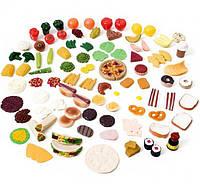 Набор овощей/фруктов для игр, 101 шт.