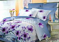 Комплект постельного белья 3D семейный, полиэстер. Постільна білизна. (арт.6793)