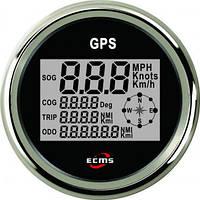 GPS спидометр с компасом ECMS (черный)
