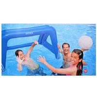 Игра 58507 Ворота для футбола и водного поло, с надувным мячом XK