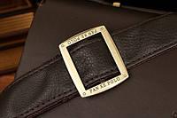 Мужской кожаный портфель Polo. Модель - 423, фото 7