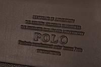 Мужской кожаный портфель Polo. Модель - 423, фото 10
