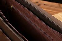 Мужской кожаный портфель Polo. Модель - 423, фото 9