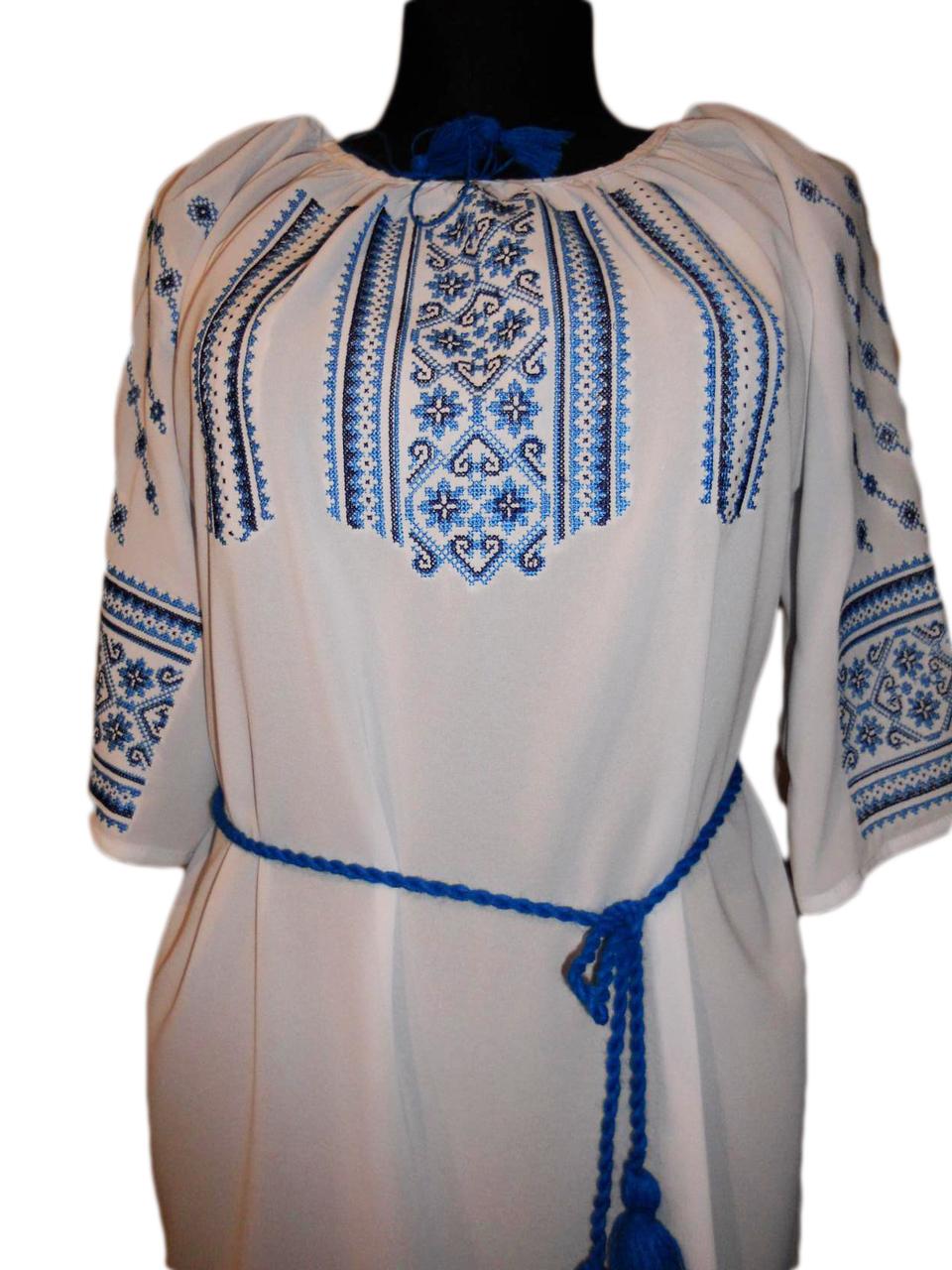 """Женская вышитая рубашка """"Нонни"""" BU-0002"""