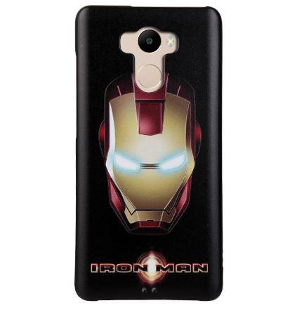 Эксклюзивный бампер с картинкой для Xiaomi Redmi 4 iron man
