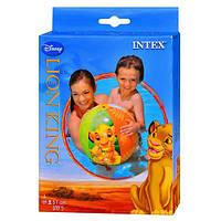 Мяч 58046 мяч пляжный надувной «Король Лев», для детей от 3лет ZZX