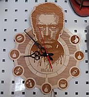 """Дизайнерские часы доктору """"Доктор Хаус"""""""