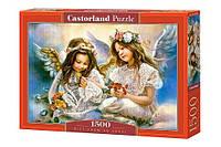 """Купить пазл Castorland Puzzle """"Два ангелочка"""" 1500 элементов"""