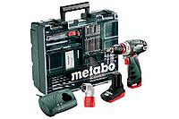 Аккумуляторная дрель-шуруповерт Metabo PowerMaxx BS Quick Pro Mobile Workshop (набор), 600157880