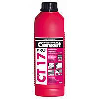 Концентрат грунтовки глибокого проникнення Ceresit СТ 17 Pro, 1 л