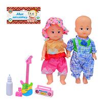 Кукла 99 BV Шурочка и Людочка, 3 вида, аксессуары  24см VD