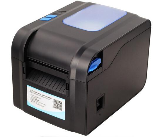 Принтер этикеток XPrinter XP-370B (USB, термо 80 мм)