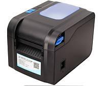Принтер чеков и этикеток XPrinter XP-370B (USB, Ethernet, RS232, термо 80 мм)