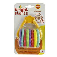 """Подвесная развивающая игрушка """"Цветные кольца"""" Bright Starts (10228)"""