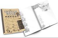 Набор  Книга - курс малювання Sketh book укр. арт. SB-01-02 FFK
