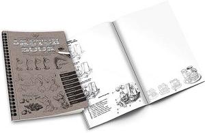 Набір Книга - курс малювання Sketh book рос. арт. SB-01-01 FFK