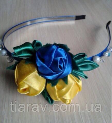 Обруч для волос украинский Украинка ободок тиара