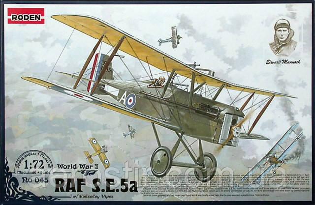 RAF S. E. 5a 1/72 RODEN 045