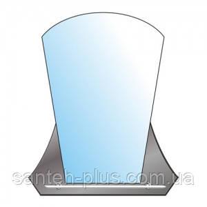 Зеркало Альфа (А-021) 66х81см с полкой