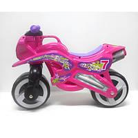 Каталка Мотоцикл малиновый 11-006 ZV