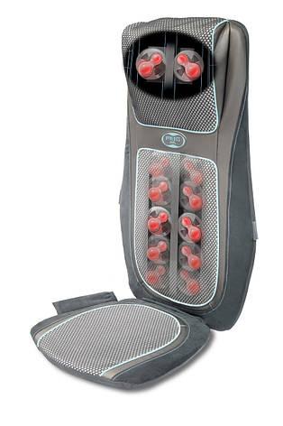 Массажная накидка HoMedics Gel Shiatsu с гелевыми ролами, прогревом 2в1, 3D массажем шеи и чехлом-сумкой, фото 2