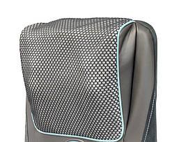 Массажная накидка HoMedics Gel Shiatsu с гелевыми ролами, прогревом 2в1, 3D массажем шеи и чехлом-сумкой, фото 3