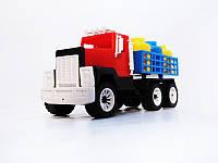 Машина грузовик с бидонами  № 05-402 FFM