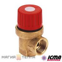 "ICMA Предохранительный клапан 241 1/2"" 3 бар"