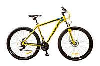 """Велосипед 29"""" Formula ATLANT AM 14G DD рама-20"""" St лимонный 2017"""
