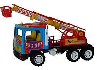 Пожарная машина Супер Трак инерц.  14-004 DK