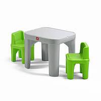 """Набор: стол и 2 стула """"MIGHTY MY SIZE TABLE&CHAIRS"""", 48х64х64 см/ 50х35х35 см"""