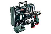 Аккумуляторная ударная дрель Metabo PowerMaxx SB Basic (набор), 600385870