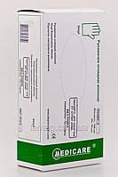 Medicare Medicare Перчатки виниловые неопудренные голубые, размер S, 100 шт.