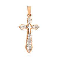 Золотой  декоративный крест