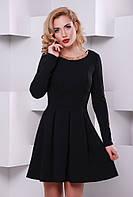 Платье Красотка черный 42-50 размеры