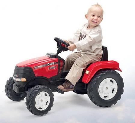 Детский трактор на педалях Falk 1020 Case IH Puma, фото 2