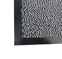 Коврик грязезащитный полипропиленовый 60х90 см, серый