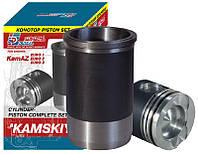 Поршнекомплект Камский, поршневая группа КАМАЗ 740 (Гильза+Поршень+РТИ)