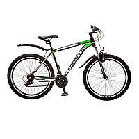 """Велосипед 26"""" Formula DYNAMITE AM 14G Vbr рама-19"""" St черно-салатный с крылом Pl 2017"""