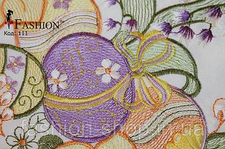 Пасхальная салфетка Цветные Писанки, фото 3