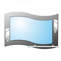 Зеркало Анжелика (А-031) 80х55см (полка)
